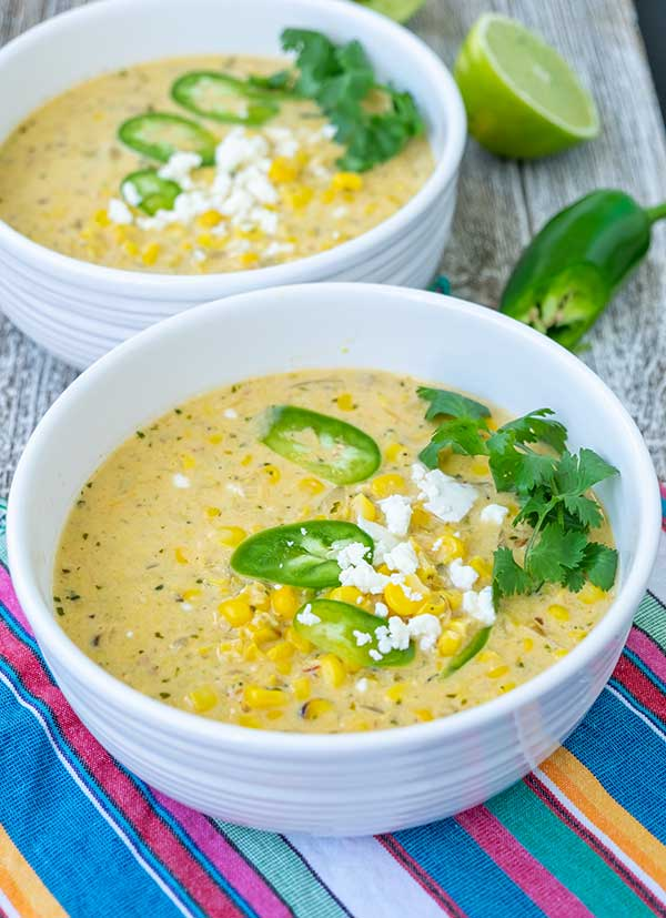 corn soup, Mexican, gluten-free