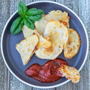 Gluten-Free Baked Pizza Pockets