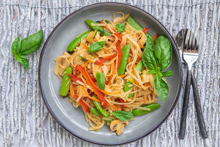 thai noodles, gluten free