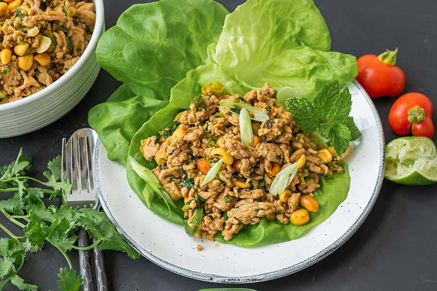 chicken lettuce wraps, gluten free