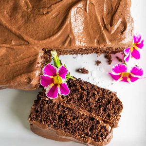 30-Minute Gluten-Free Chocolate Cake With Nutella Frosting