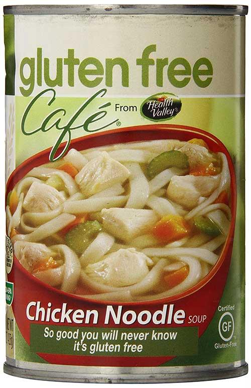 chicken noodle soup, gluten free