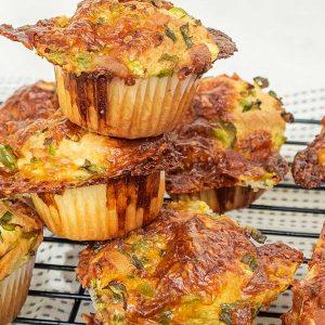 Gluten-Free Savoury Breakfast Muffin