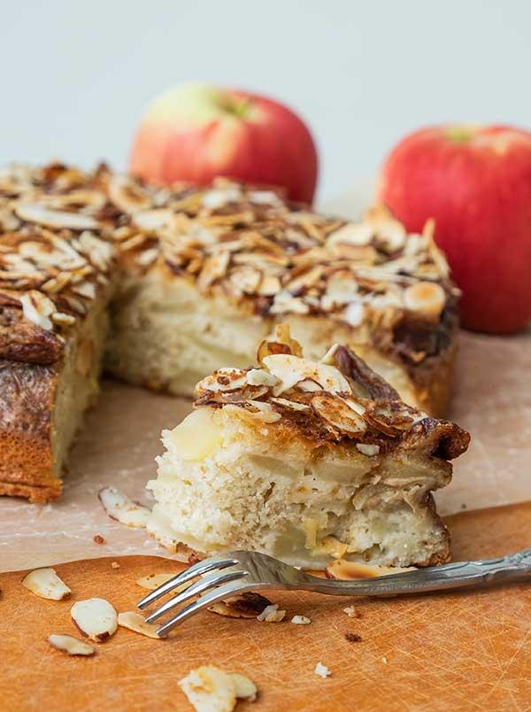 gluten-free apple sponge cake