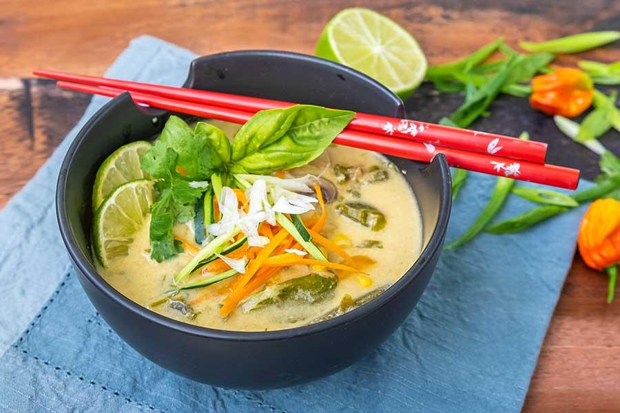 thai chicken soup, instant pot