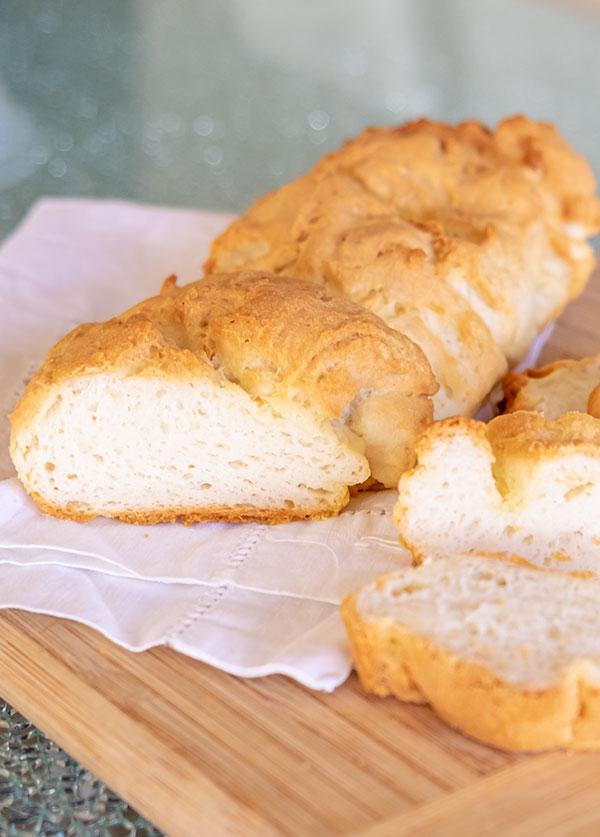 Gluten-Free Crusty French Baguette Recipe