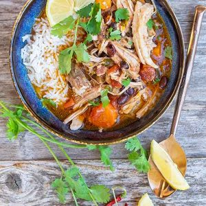 Instant Pot Spiced Cuban Pork Ragout