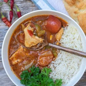 Louisiana Chicken Gumbo (Gluten-Free)