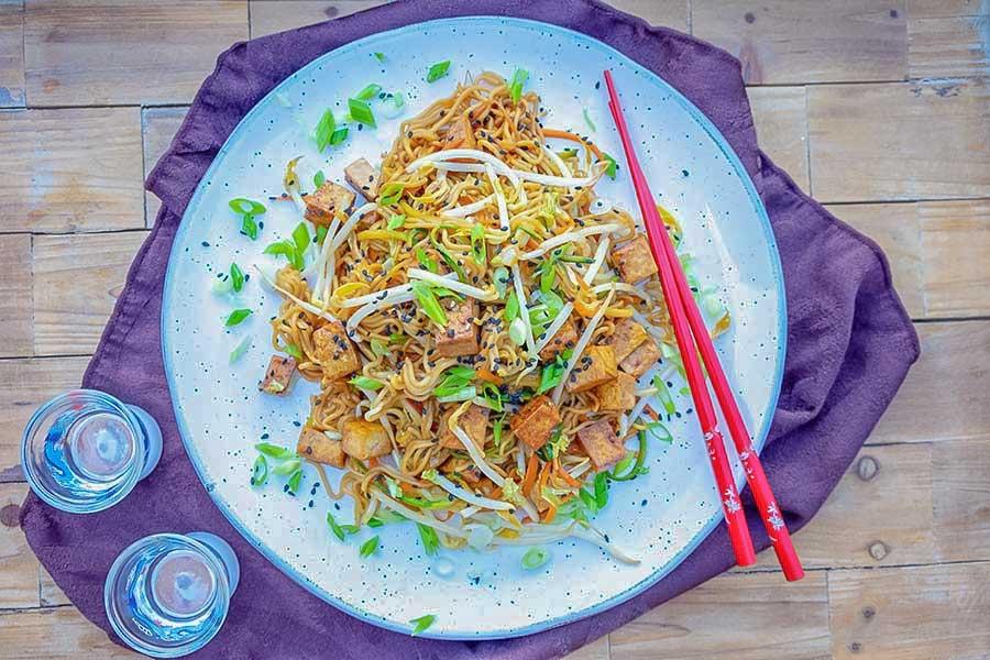 gluten free vegan chow mein