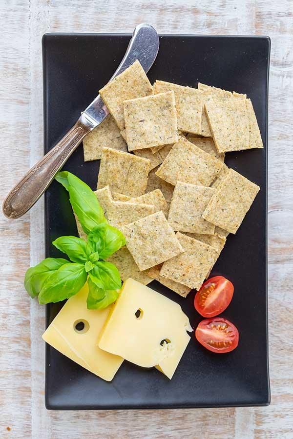 Gluten-Free Italian Crackers