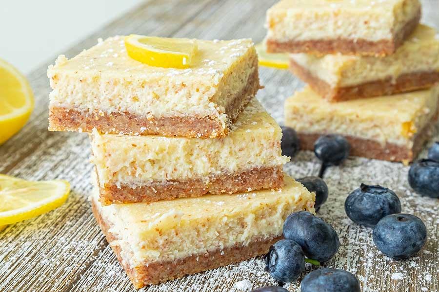 lemon bar, keto