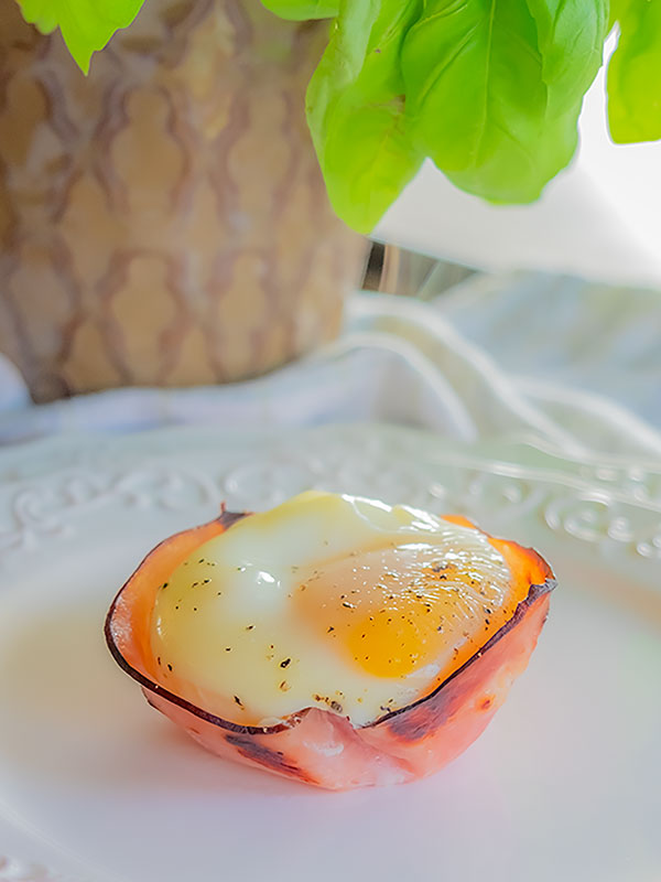 ham and cheese egg cups, keto, gluten free