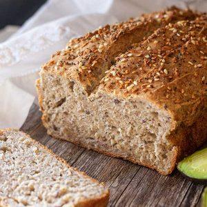 Healthy Gluten-Free Flax Bread