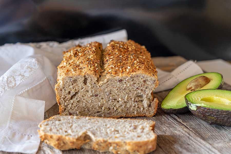 flax bread, glutenfree |onlyglutenfreerecipes
