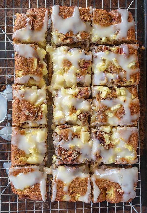 Coconut Pear Breakfast Cake, gluten free