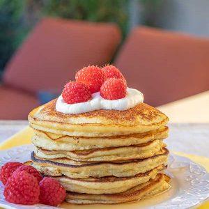 Grain-Free Nut-Free Ricotta Pancakes