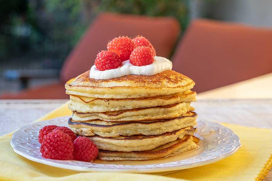 ricotta pancakes, grain free