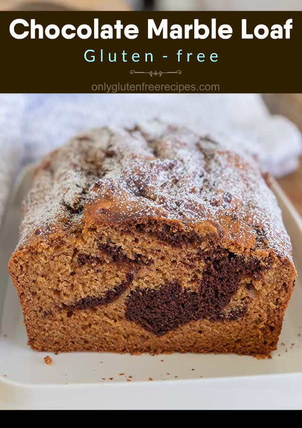 Gluten-Free Chocolate Marble Loaf