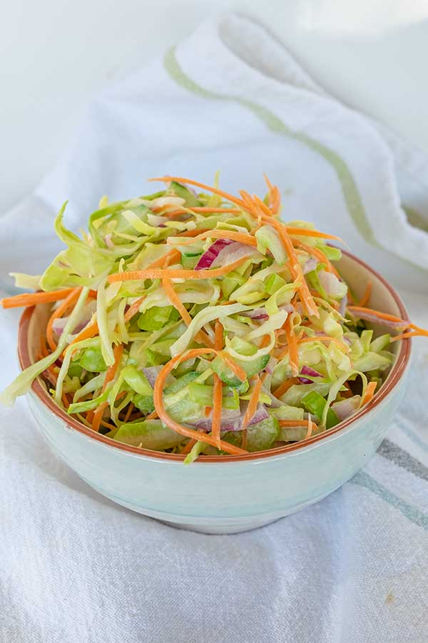 vegan coleslaw, gluten free