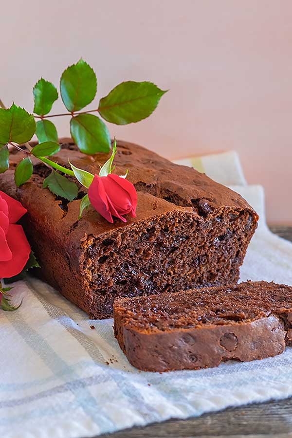 Gluten-Free Double Chocolate Banana Quick Bread