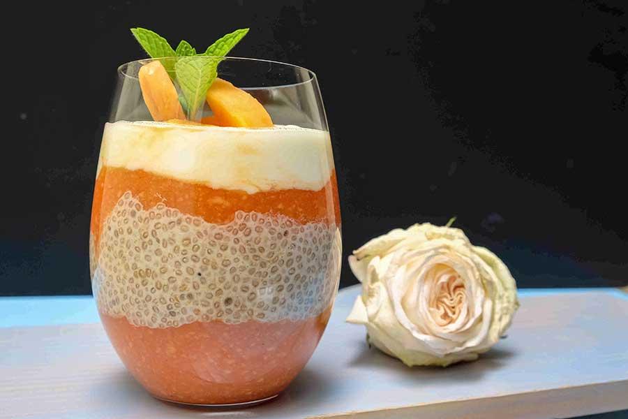 detox, papaya pudding