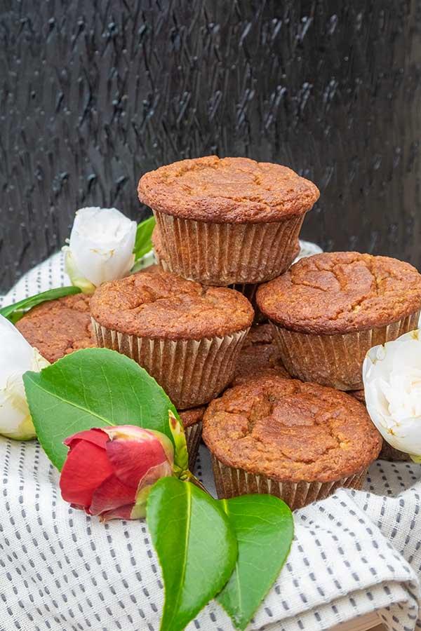 Easy Banana Muffins – Gluten Free