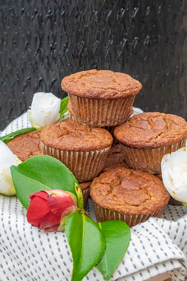 easy banana muffin, gluten free