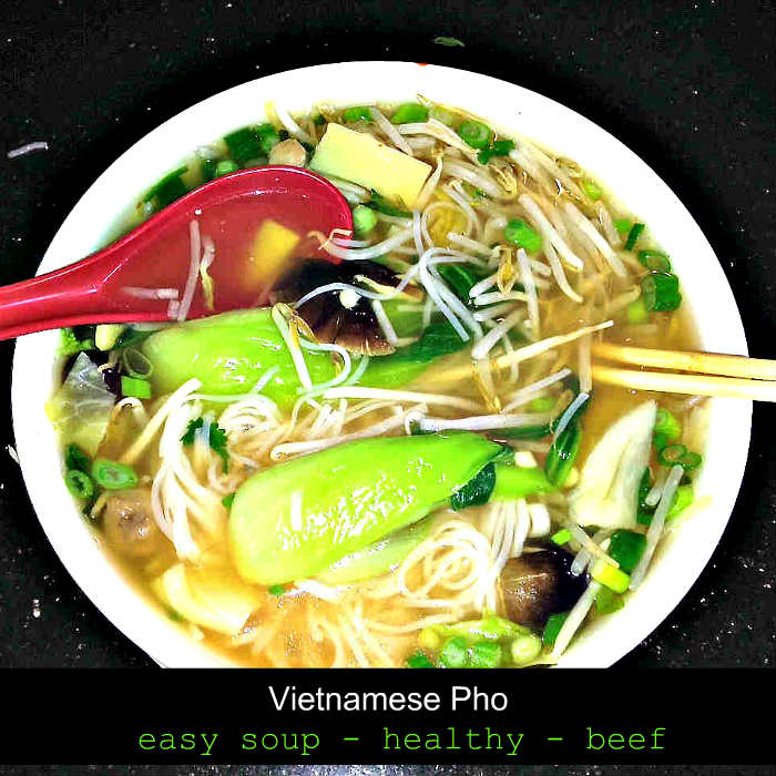 take out recipes, Vietnamese pho, gluten free