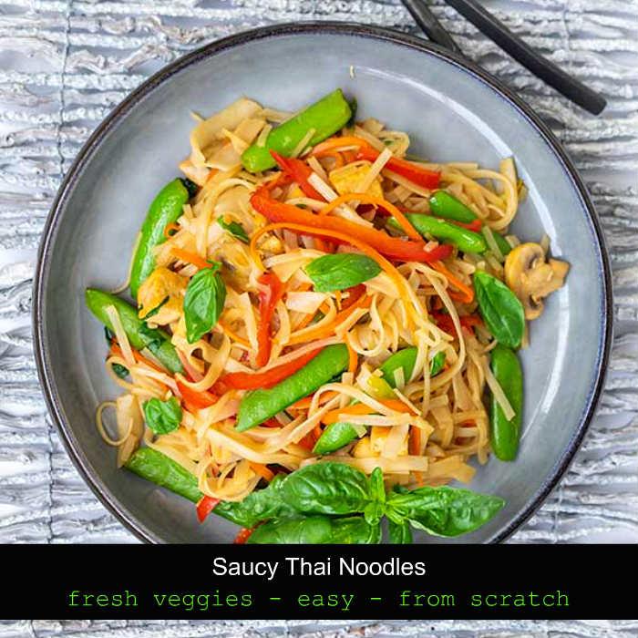 take out recipes, thai noodles, gluten free