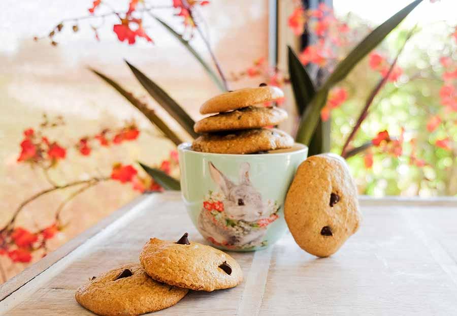 almond butter cookies, gluten free