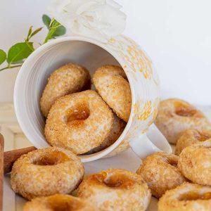 Gluten-Free Chai Spiced Thumbprint Cookies