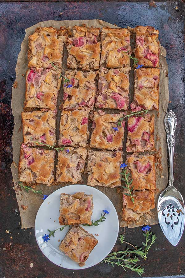 Gluten Free Rhubarb Apple Coffee Cake Only Gluten Free Recipes
