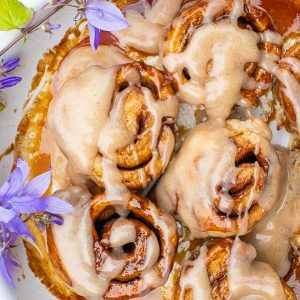 Gluten-Free Honey Cinnamon Rolls