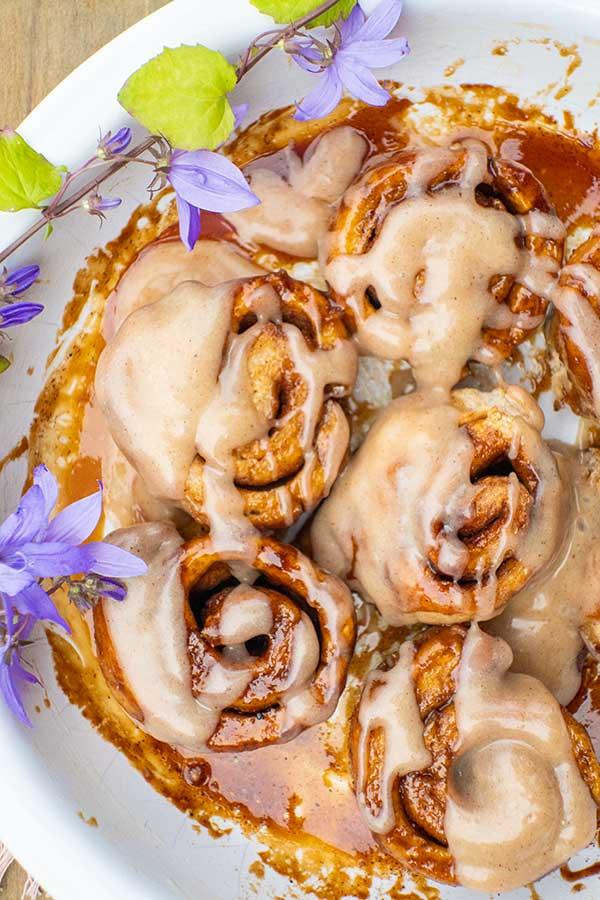 Gluten-Free Honey Cinnamon Rolls