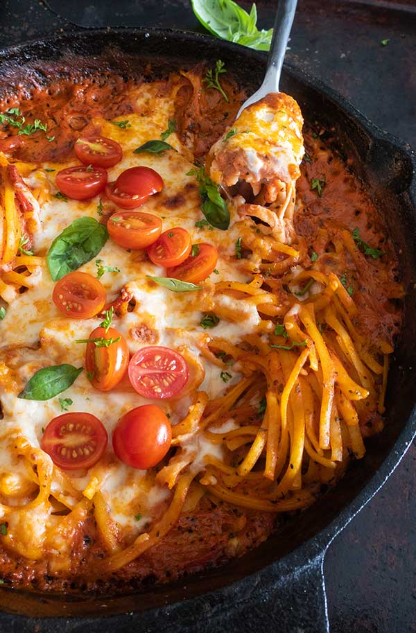 Gluten-Free One Pot Creamy Tomato Pasta Bake