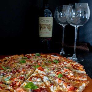 Gluten-Free (Yeast-Free) Thin Crust Pizza