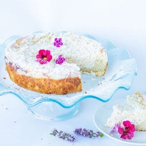 Gluten-Free Cream Cheese Vanilla Cake