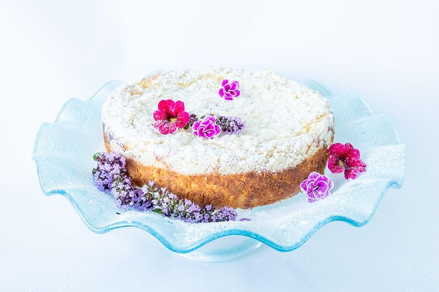 cream cheese vanilla cake, gluten free
