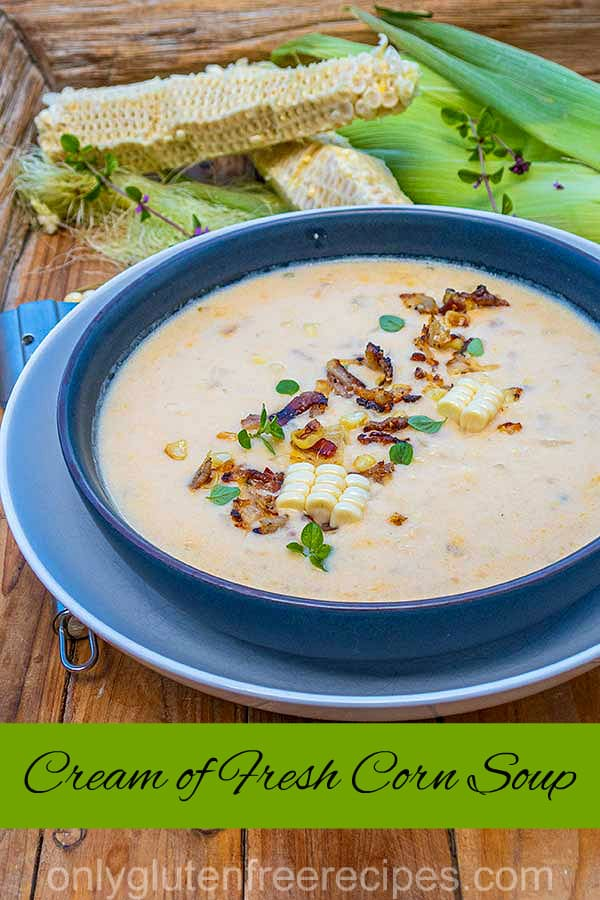 Cream of Fresh Corn Soup