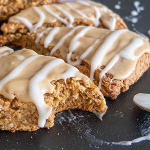 Gluten-Free Maple Oat Nut Scones