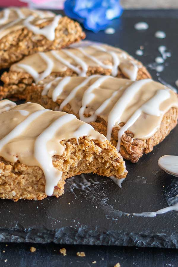 Gluten-Free Maple Oat Nut Scones