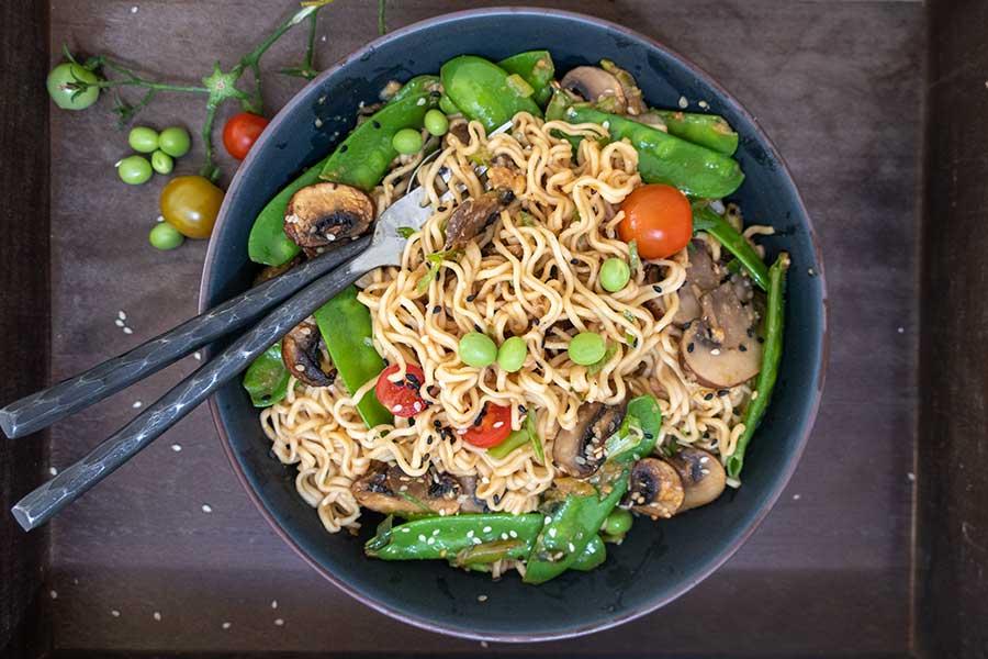 gluten free miso ramen noodles