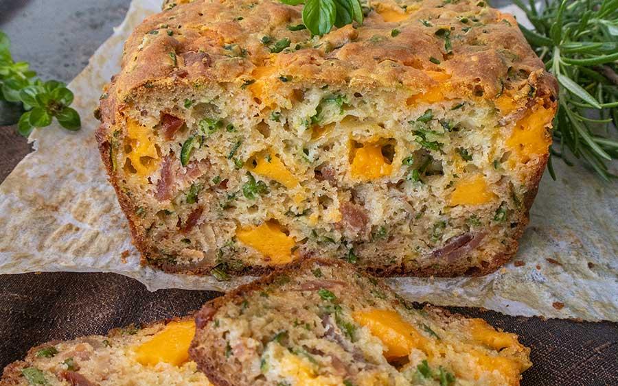 bacon cheese bread, gluten free