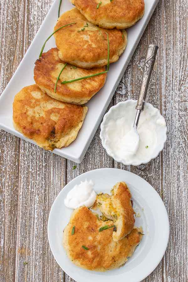 Gluten-Free Stuffed Potato Cakes