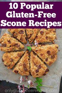 10 gluten free scone recipes
