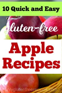 easy gluten free apple recipes