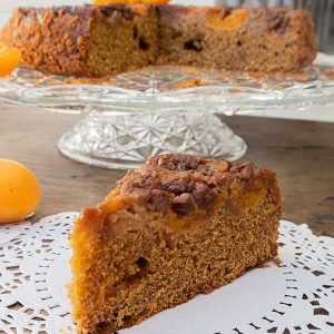 Gluten-Free Apricot Maple Butter Cake