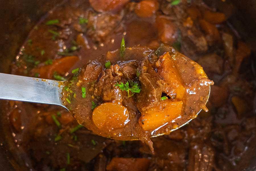 Dominican beef stew, instant pot