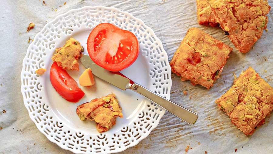 gluten free yam scone