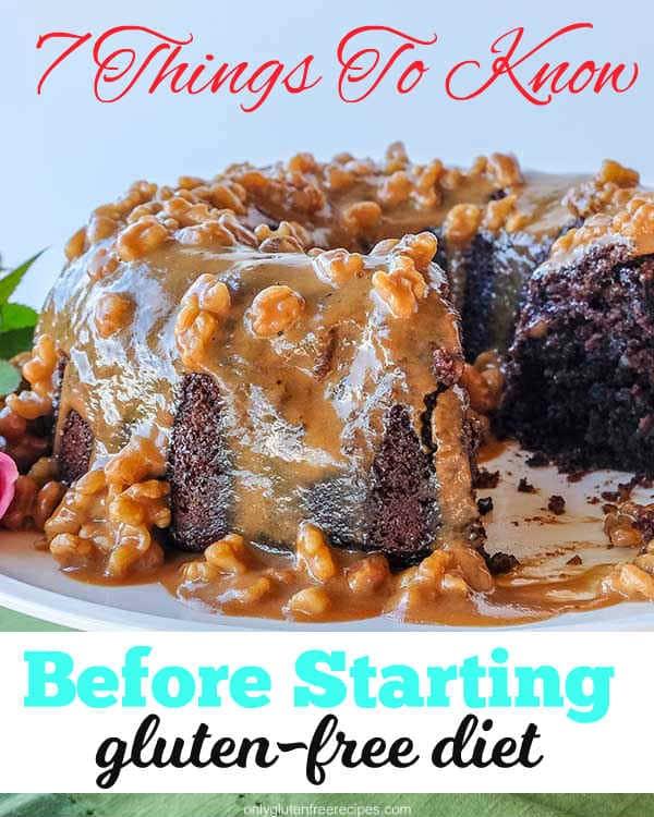 starting gluten-free diet
